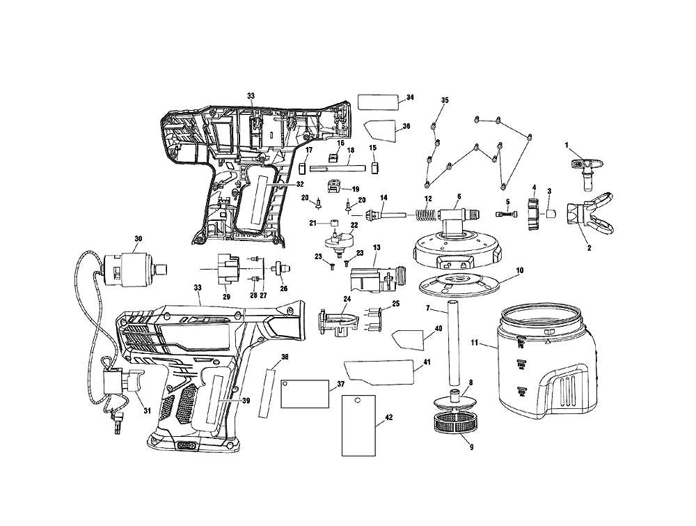 buy ryobi p650k replacement tool parts