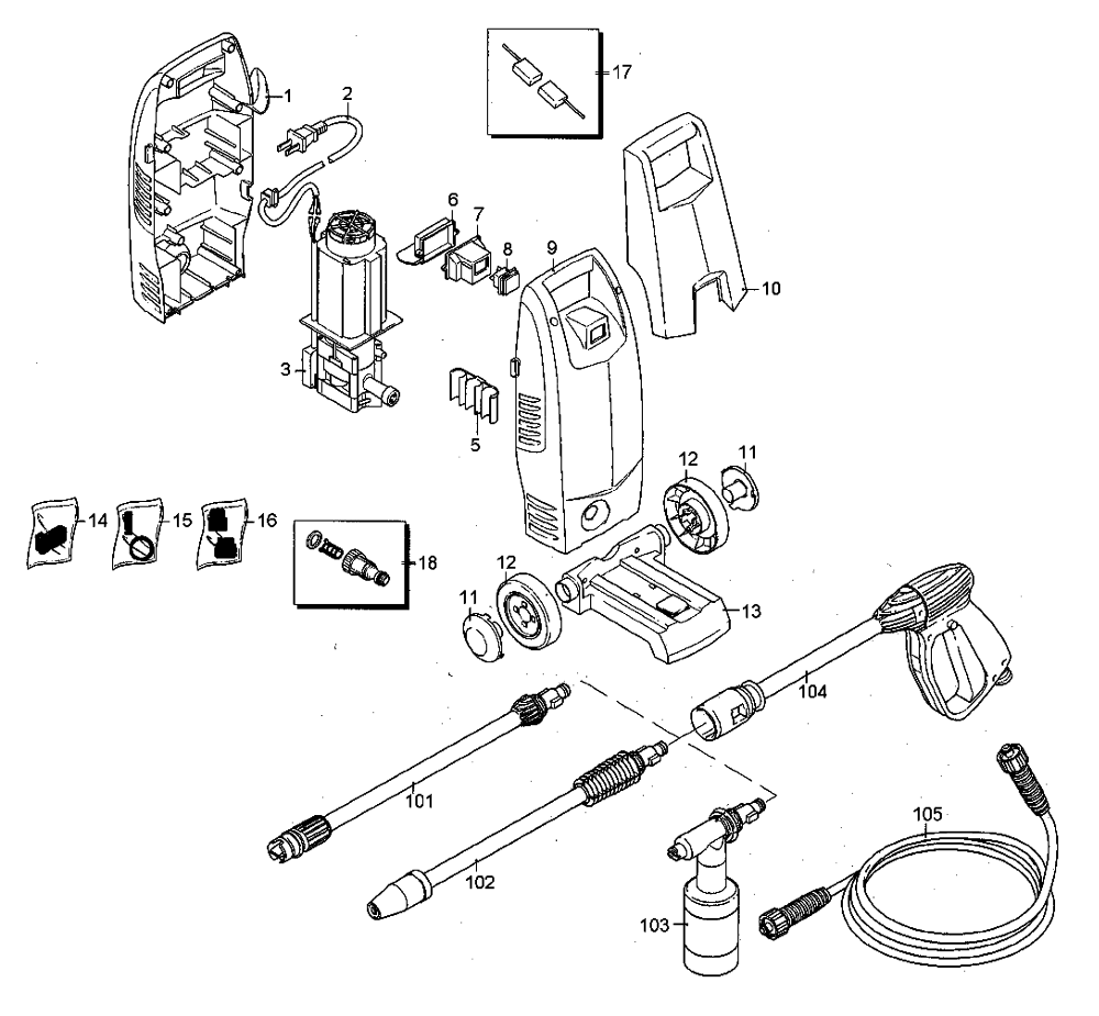 Karcher K2 Spare Parts Diagram | Jidimotor.co on