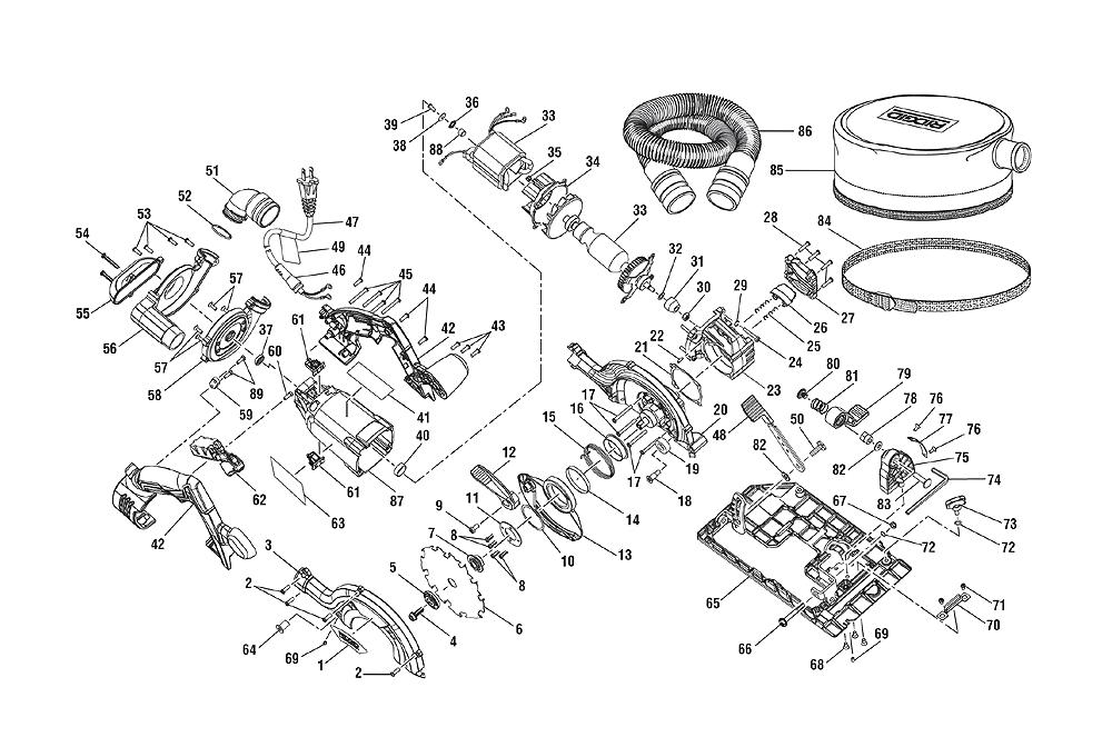 Buy Ridgid R3402 Replacement Tool Parts | Ridgid R3402 ...