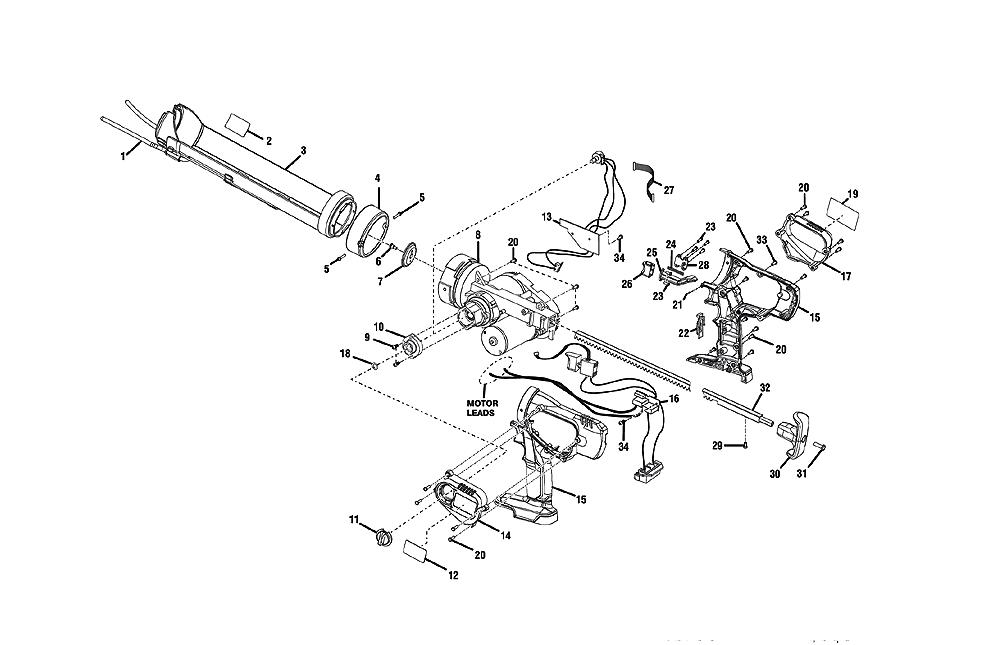 Buy Ridgid R8804 Replacement Tool Parts