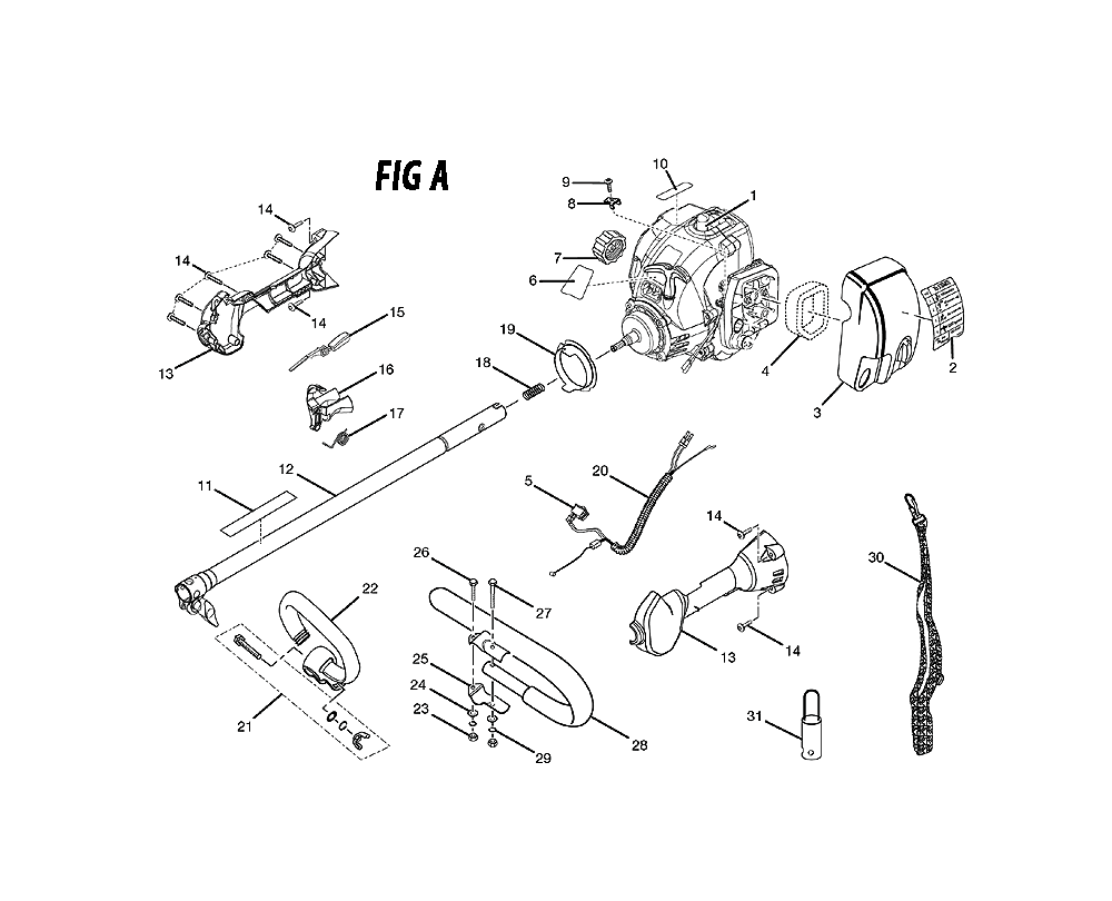 Buy Ryobi Ry30060a Replacement Tool Parts A Href Engine Diagram Schematic
