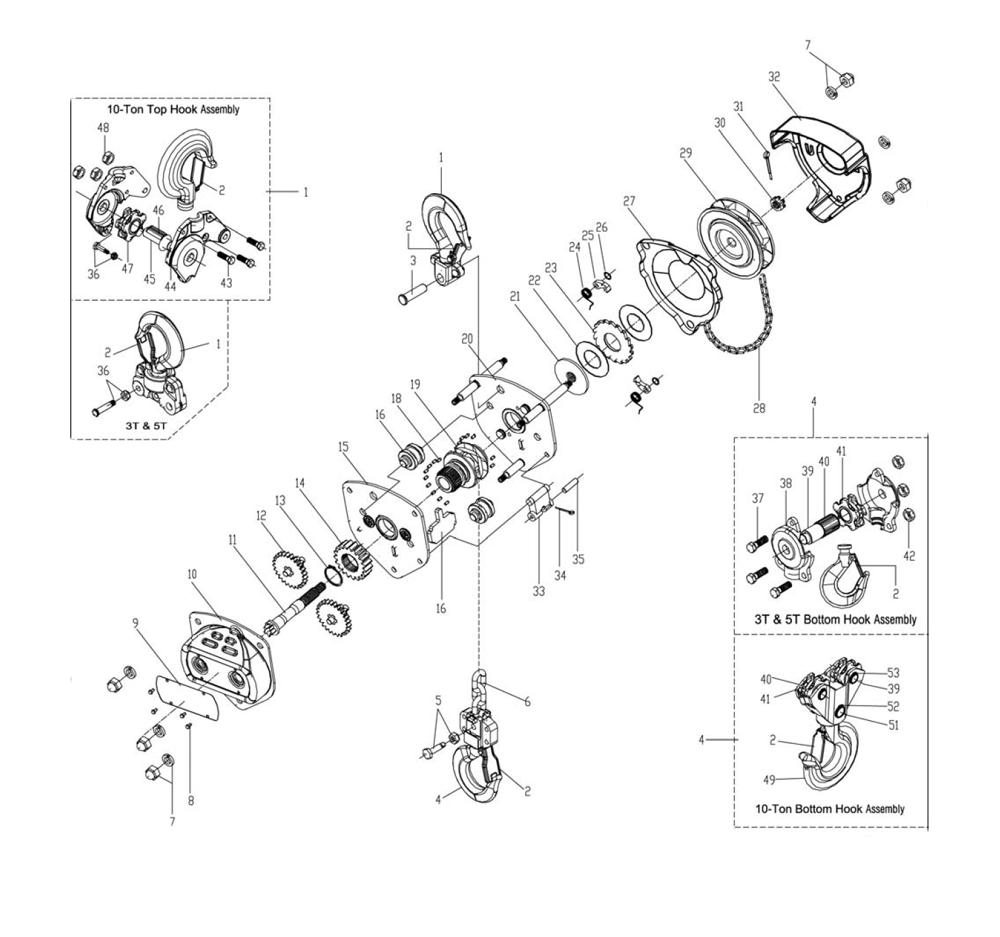 S90-050-(101901)-Jet-PB  On Jet Hoist Pendant Wiring Diagram on