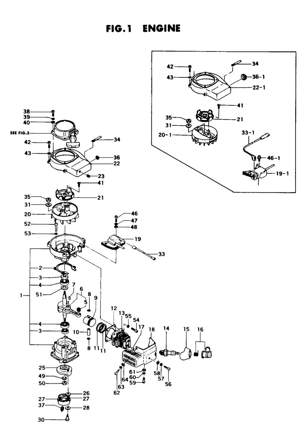 Piston Replacement Part Hitachi 6686014 Pin